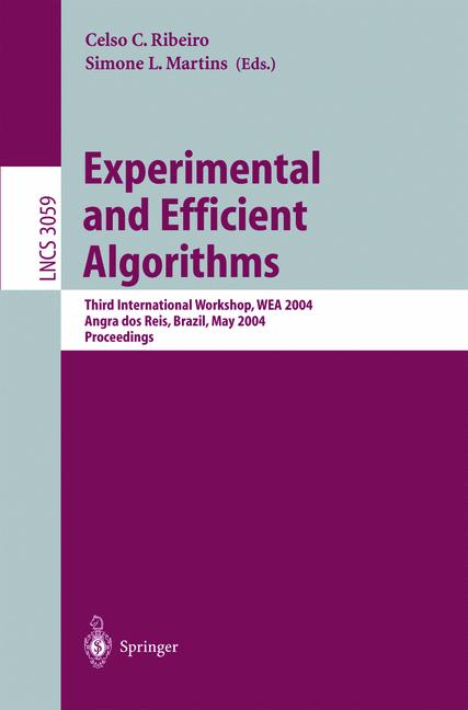 Cover of 'Experimental and Efficient Algorithms'