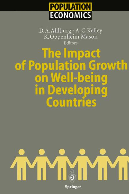 Cover of 'The Impact of Population Growth on Well-being in Developing Countries'