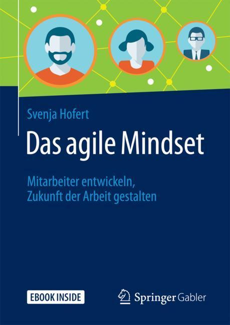 Cover of 'Das agile Mindset'