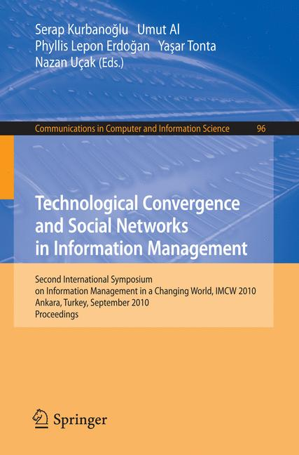 Cover of 'Technological Convergence and Social Networks in Information Management'