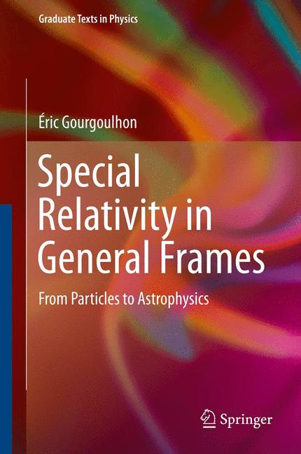 Cover of 'Special Relativity in General Frames'