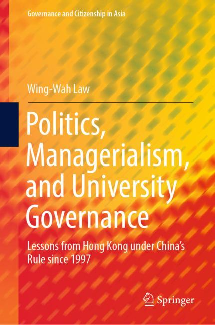Cover of 'Politics, Managerialism, and University Governance'