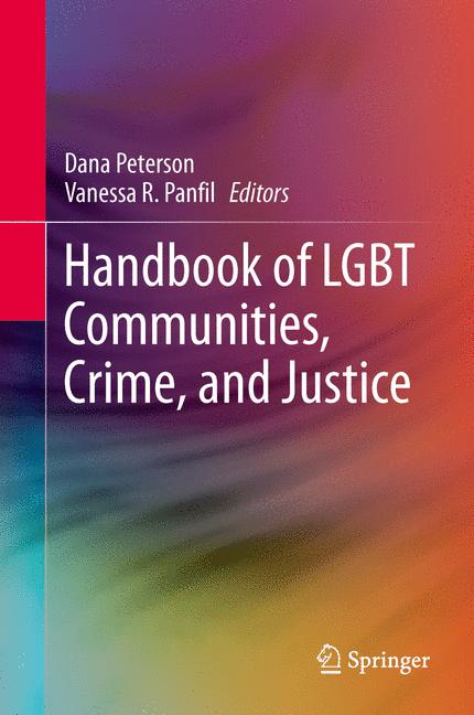 Cover of 'Handbook of LGBT Communities, Crime, and Justice'