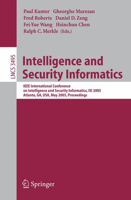 Cover of 'Intelligence and Security Informatics'