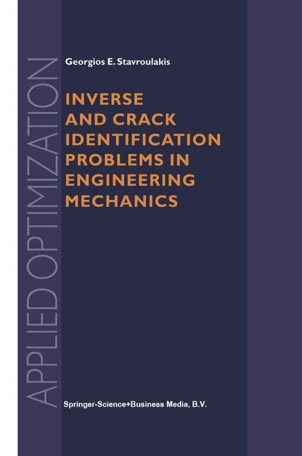 Cover of 'Inverse and Crack Identification Problems in Engineering Mechanics'