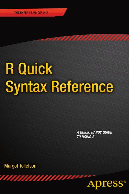 Cover of 'R Quick Syntax Reference'