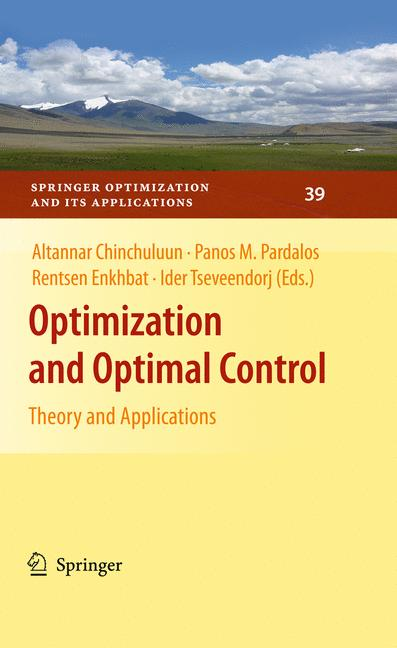 Cover of 'Optimization and Optimal Control'