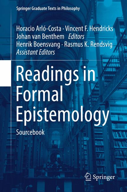 Cover of 'Readings in Formal Epistemology'