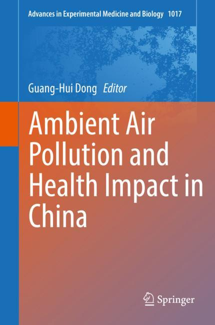 Cover of 'Ambient Air Pollution and Health Impact in China'