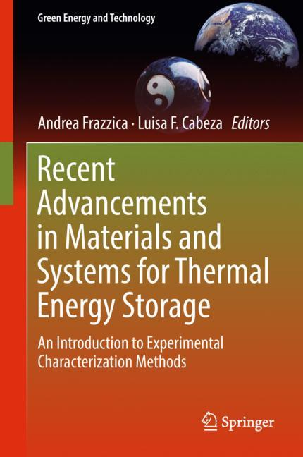 Cover of 'Recent Advancements in Materials and Systems for Thermal Energy Storage'