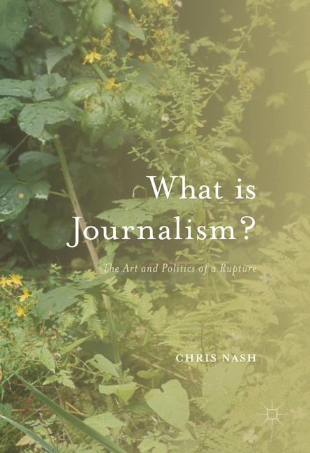 Cover of 'What is Journalism?'