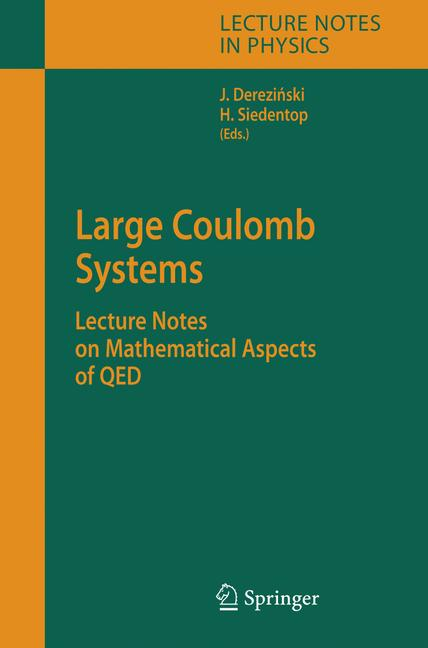 Cover of 'Large Coulomb Systems'