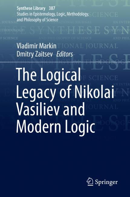 Cover of 'The Logical Legacy of Nikolai Vasiliev and Modern Logic'