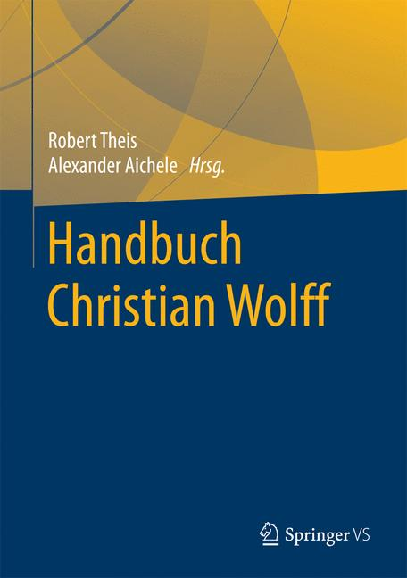 Cover of 'Handbuch Christian Wolff'