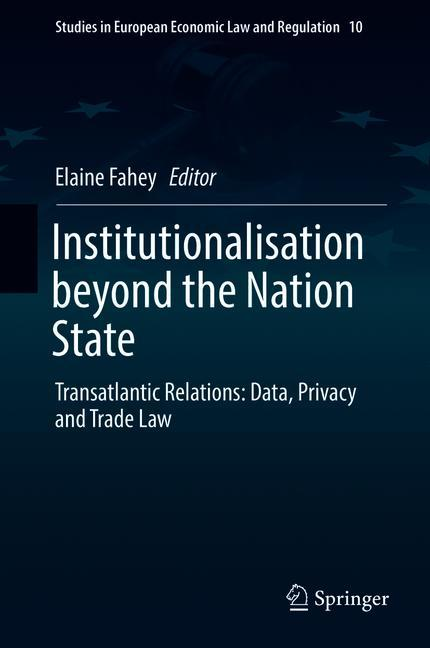 Cover of 'Institutionalisation beyond the Nation State'
