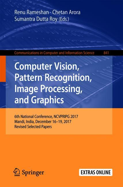 Cover of 'Computer Vision, Pattern Recognition, Image Processing, and Graphics'