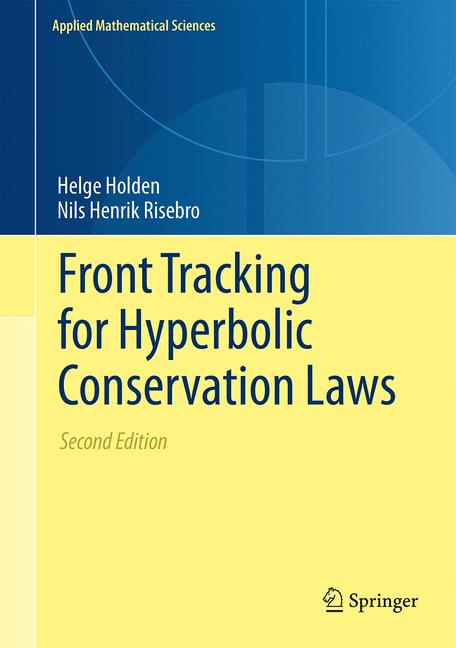 Cover of 'Front Tracking for Hyperbolic Conservation Laws'