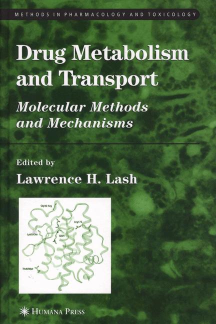 Cover of 'Drug metabolism and transport'