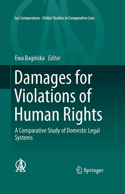 Cover of 'Damages for Violations of Human Rights'