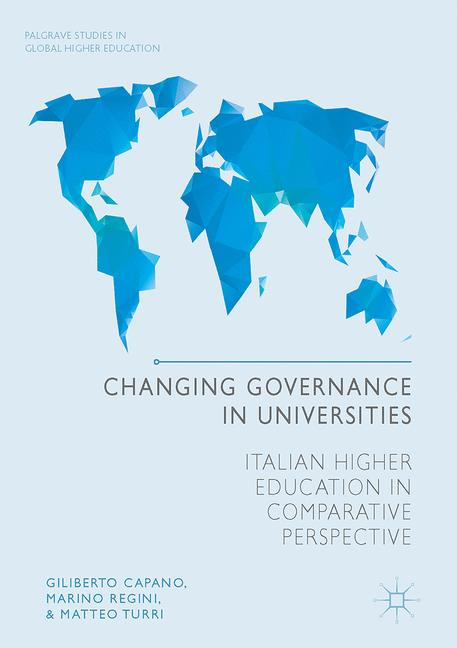 Cover of 'Changing Governance in Universities'