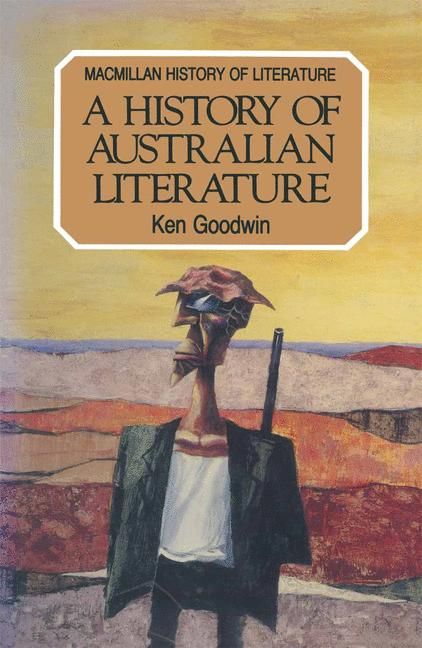 Cover of 'A history of Australian literature'