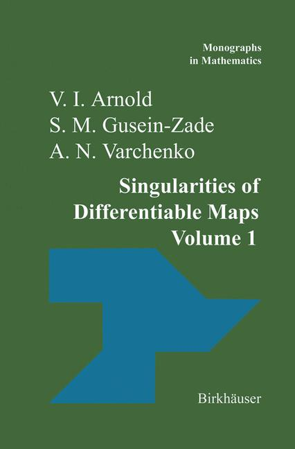 Cover of 'Singularities of Differentiable Maps'