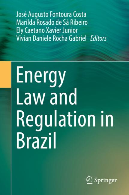 Cover of 'Energy Law and Regulation in Brazil'
