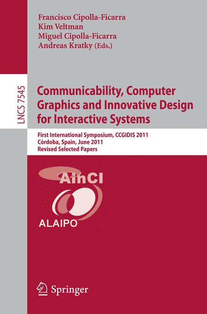 Cover of 'Communicability, Computer Graphics and Innovative Design for Interactive Systems'
