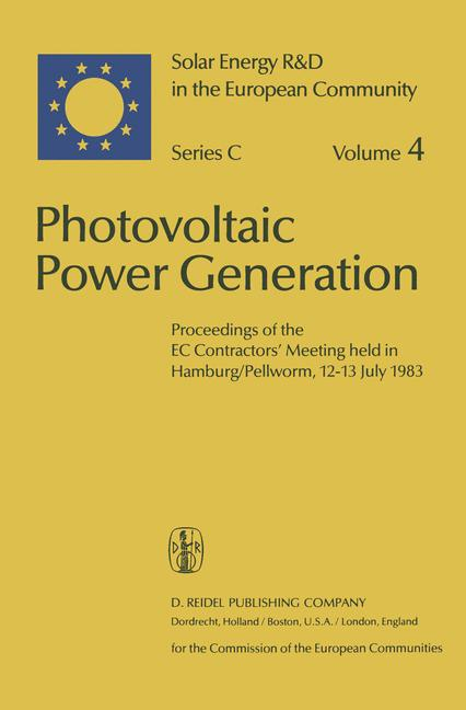 Cover of 'Photovoltaic Power Generation'