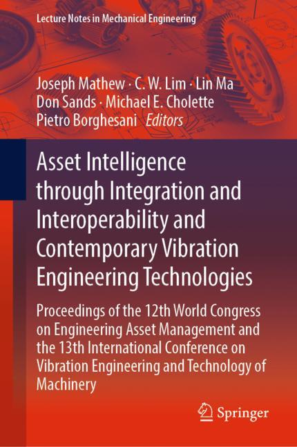 Cover of 'Asset Intelligence through Integration and Interoperability and Contemporary Vibration Engineering Technologies'