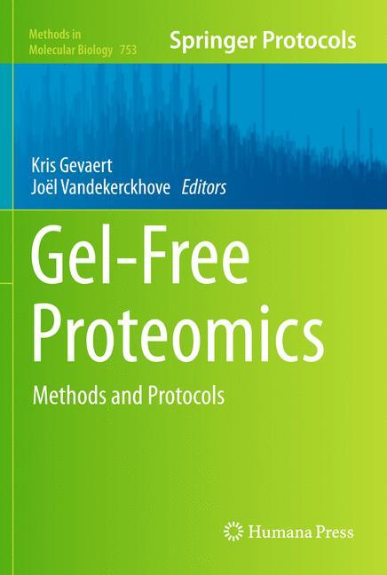 Cover of 'Gel-Free Proteomics'