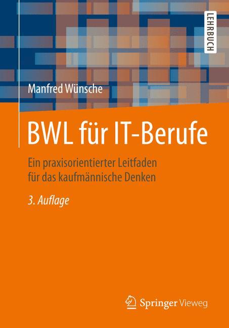 Cover of 'BWL für IT-Berufe'