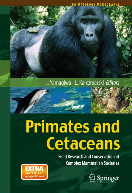 Cover of 'Primates and Cetaceans'