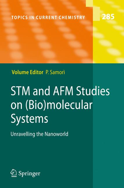 Cover of 'STM and AFM Studies on (Bio)molecular Systems: Unravelling the Nanoworld'