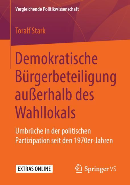 Cover of 'Demokratische Bürgerbeteiligung außerhalb des Wahllokals'
