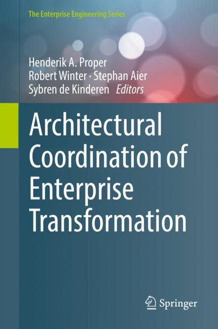 Cover of 'Architectural Coordination of Enterprise Transformation'