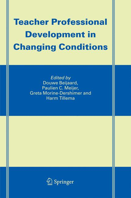 Cover of 'Teacher Professional Development in Changing Conditions'