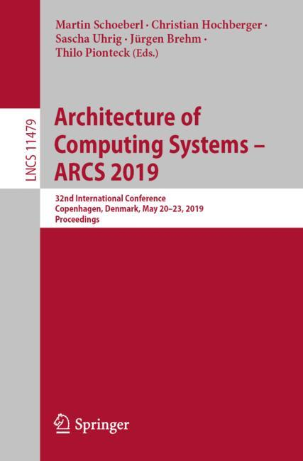Cover of 'Architecture of Computing Systems – ARCS 2019'