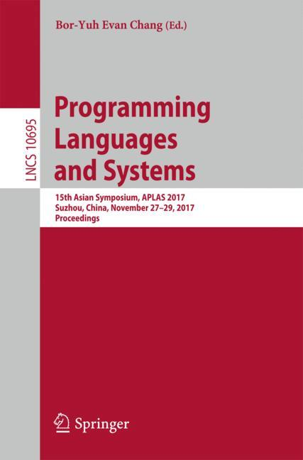 Cover of 'Programming Languages and Systems'