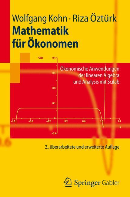 Cover of 'Mathematik für Ökonomen'