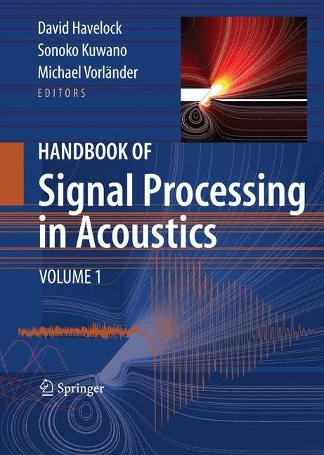 Cover of 'Handbook of Signal Processing in Acoustics'