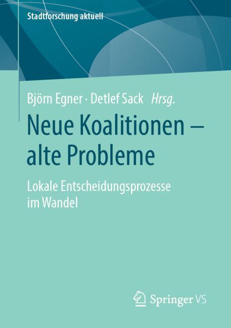 Cover of 'Neue Koalitionen – alte Probleme'