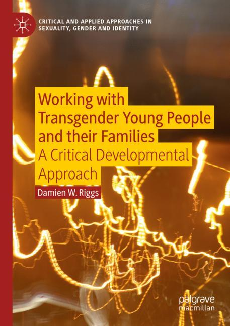 Cover of 'Working with Transgender Young People and their Families'