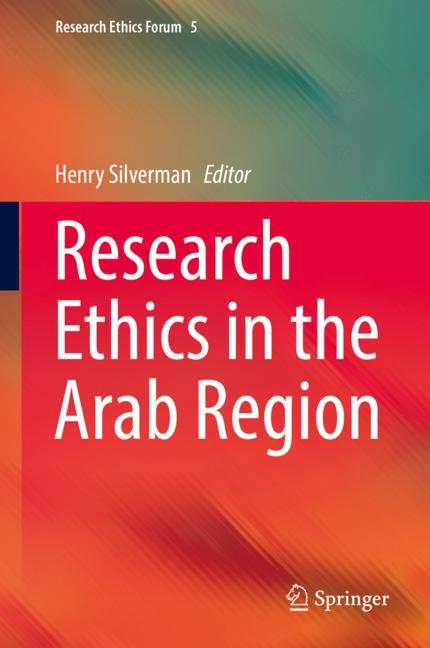 Cover of 'Research Ethics in the Arab Region'