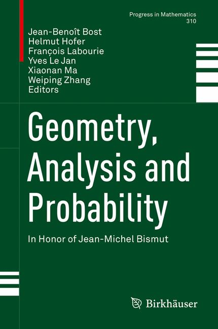 Cover of 'Geometry, Analysis and Probability'