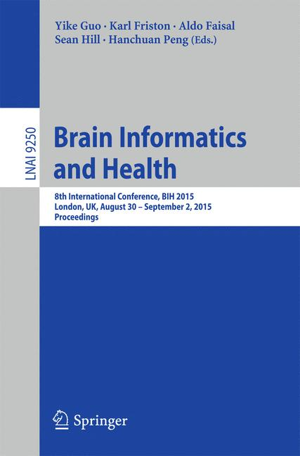 Cover of 'Brain Informatics and Health'