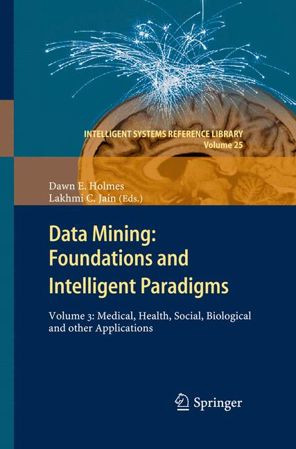 Cover of 'Data Mining: Foundations and Intelligent Paradigms'