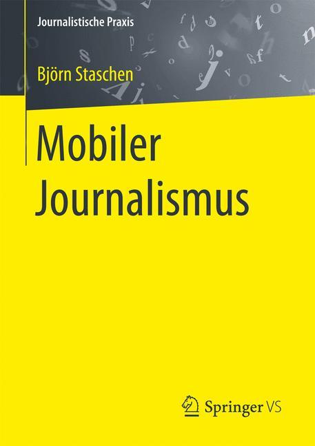 Cover of 'Mobiler Journalismus'