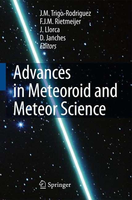 Cover of 'Advances in Meteoroid and Meteor Science'
