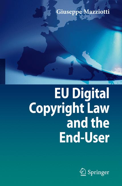 Cover of 'EU digital copyright law and the end-user'
